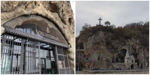 Igreja na pedra - Budapeste