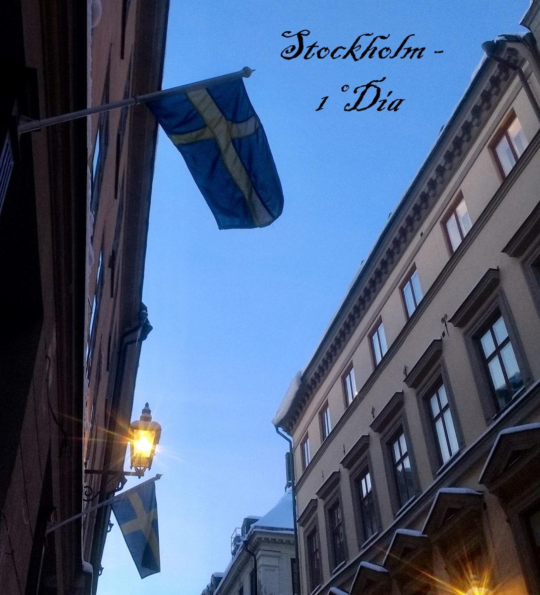 Stockholm 1º dia